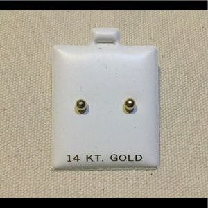 Gold earrings 14k